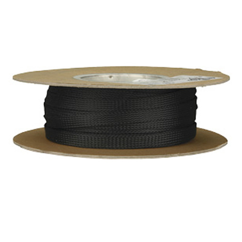 1/2in Expandable Sleeving Black - 100 Feet
