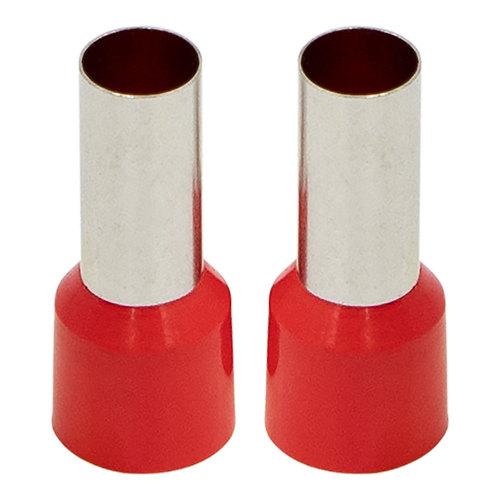 Ferrules - Red 4GA - 50 per Bag