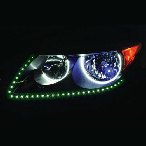 Side View Green Light Strips - 24 Inch, 60 LED, Pair, Retail