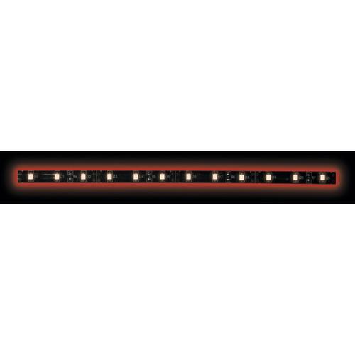 5050 Red/Black Light Strip with Black Base - 3 Meter, 60 LED, Retail