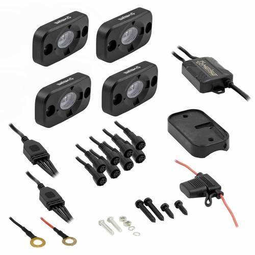 RGB Accent Light Kit - 4 RGB Pods, 3 LED