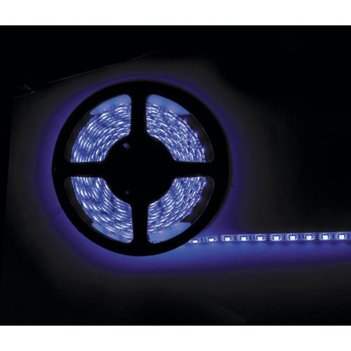 16 Color 5050 RGB LED Strip with White Base - 5 Meter, Bulk