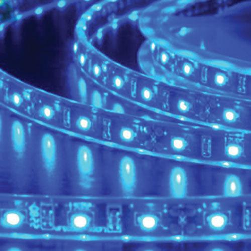 5050 Blue Light Strip - 1 Meter, 60 LED, Bulk