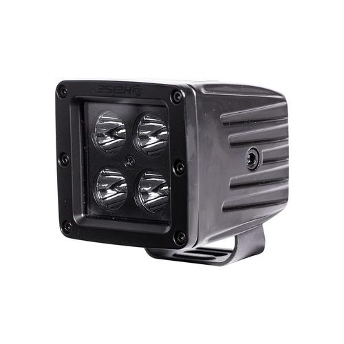 Cube Blackout Spot Light - 3 Inch, 4 LED