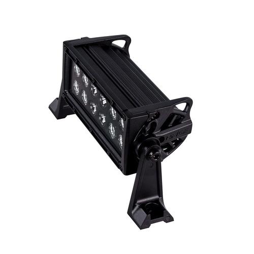 Dual Row Blackout Lightbar - 8 Inch, 12 LED