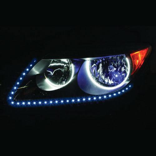 Side View Blue Light Strips - 24 Inch, 60 LED, Pair, Bulk