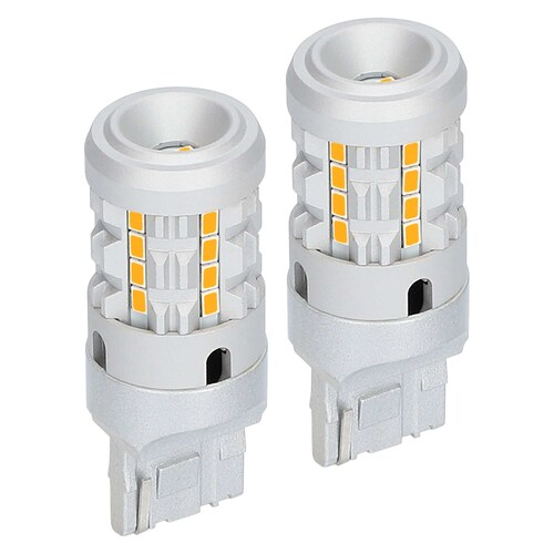 7440 Amber Bulbs with Integrated Internal CANBUS System - 2-Pack