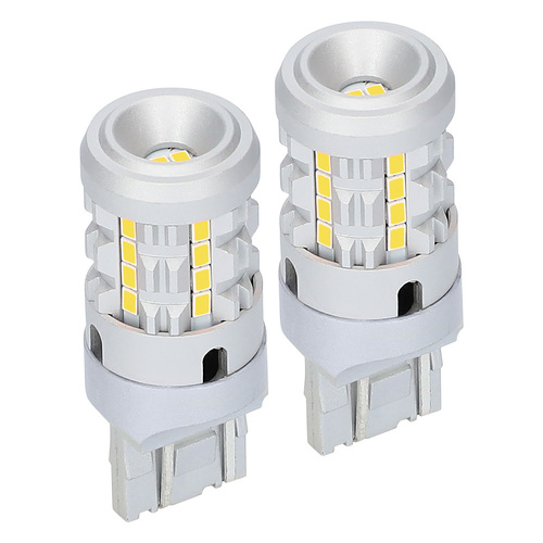 7443 White Bulbs with Integrated Internal CANBUS System - 2-Pack
