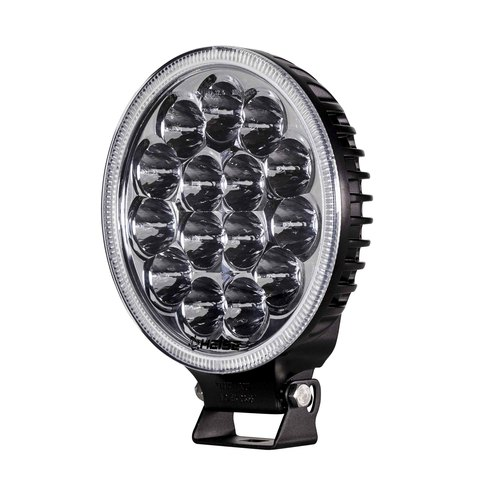 Round Driving Light - 7 Inch, 15 LED