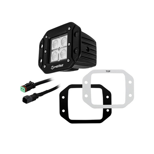 Flush Mount Cube Flood Light - 3 Inch, 4 LED