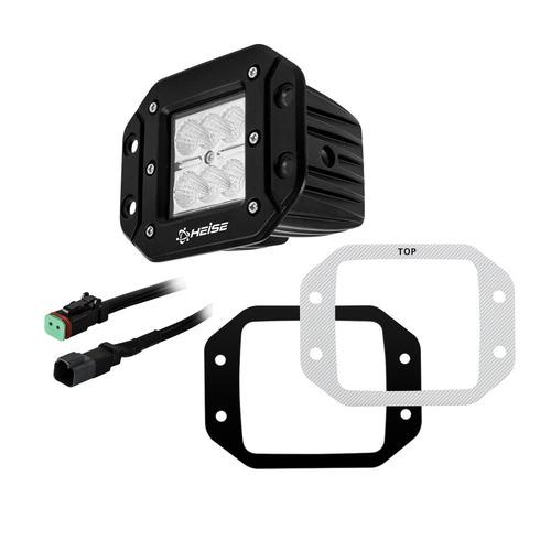 Flush Mount Cube Flood Light - 3 Inch, 6 LED