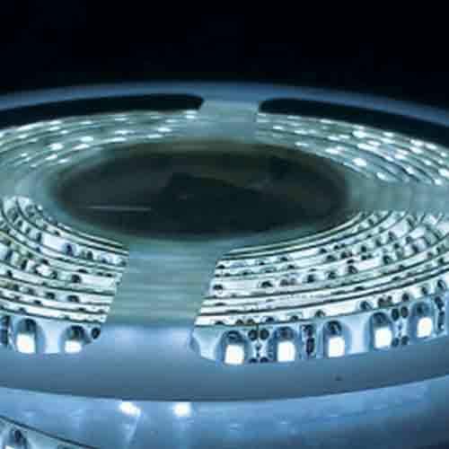5050 Ice Blue Light Strip - 5 Meter, 60 LED, Bulk