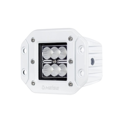 Marine Flush Mount Cube Light - 3 Inch, 6 LED