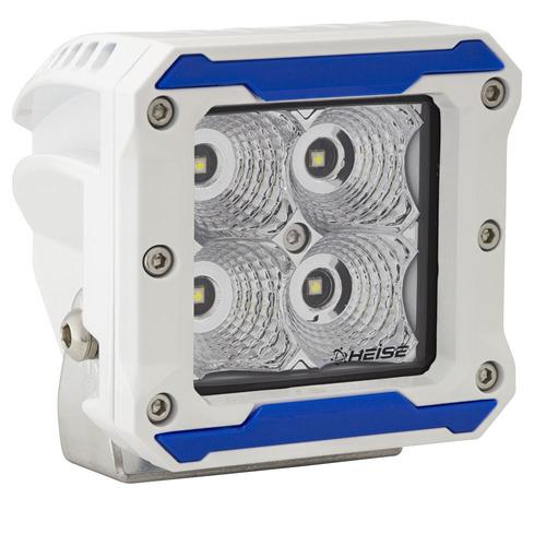 Marine Flood Beam Cube Light - 3 Inch, 4 LED