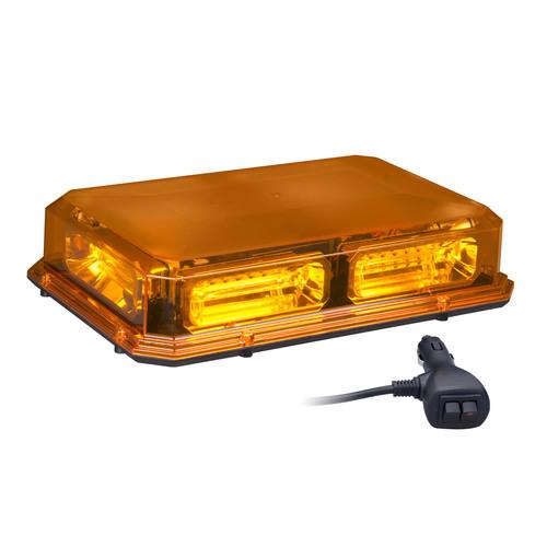 Amber Exterior Mini Lightbar - 12.9 Inch, 36 LED