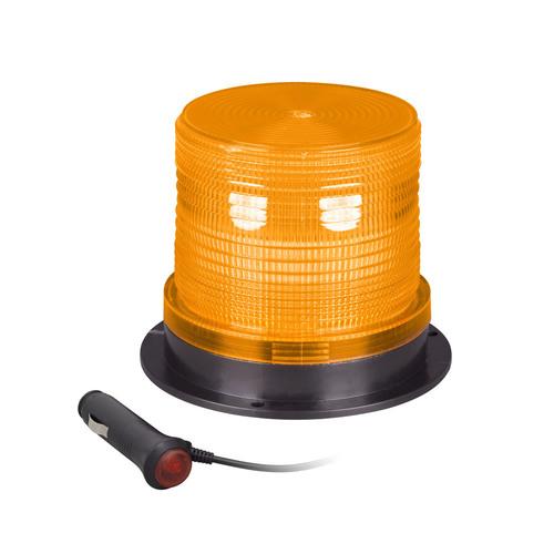 Amber Exterior Light Beacon - 3.5 Inch, 48 LED