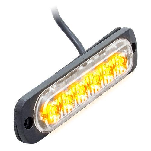 Amber Lite Marker Lights - 4.4 Inch, 6 LED