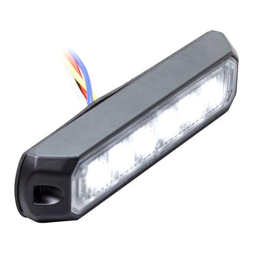 White Marker Lights - 4.9 Inch, 6 LED