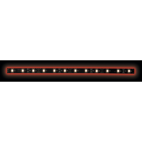 3528 Red/Black Light Strip with Black Base - 3 Meter, 60 LED, Bulk