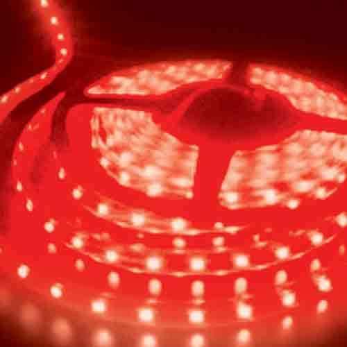 5050 Red Light Strip - 5 Meter, 60 LED, Bulk