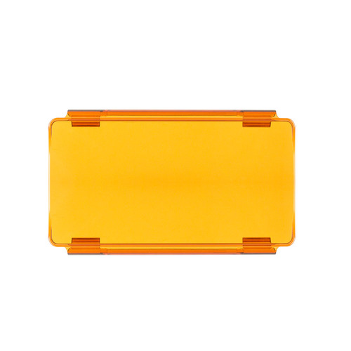 Amber Protective Lens Cover for Straight Lightbars - 6 Inch