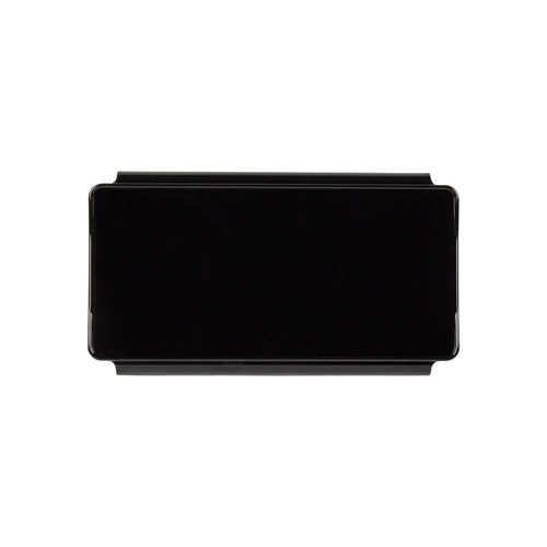 Black Protective Lens Cover for Straight Light Bars - 6 Inch