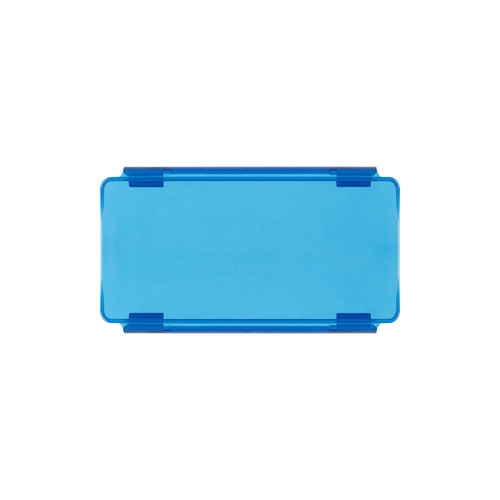 Blue Protective Lens Cover for Straight Light Bars - 6 Inch