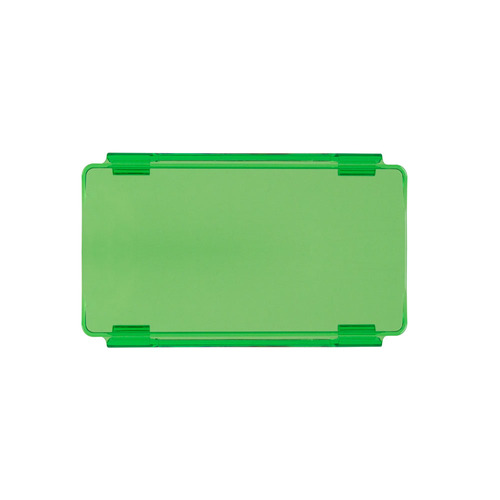 Green Protective Lens Cover for Straight Light Bars - 6 Inch