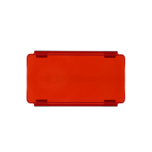 Red Protective Lens Cover for Straight Lightbars - 6 Inch