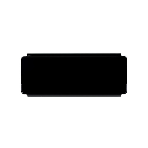 Black Protective Lens Cover for Straight Light Bars - 8 Inch