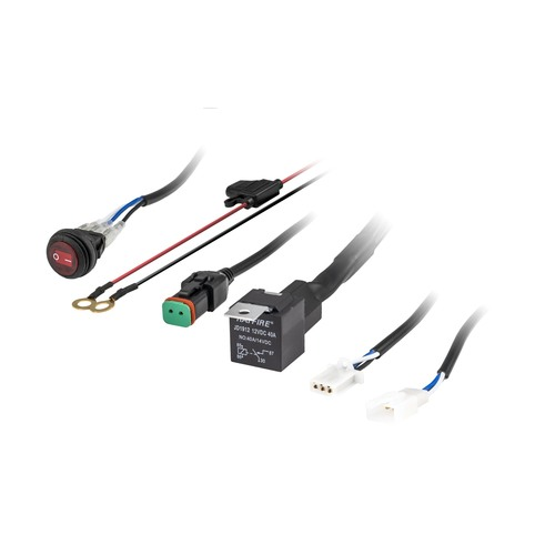 DT Wiring Harness and Switch Kit - 1 Lamp, Universal