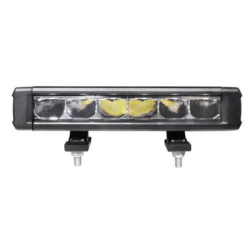 Single Row Super Slimline Lightbar - 9 Inch, 6 LED