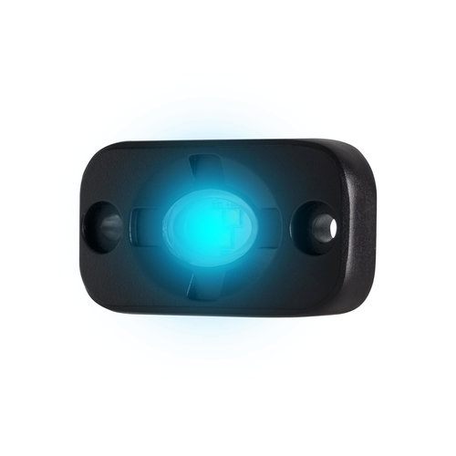 Blue Auxiliary Lighting Pod - 1.5x3 Inch, 3 LED