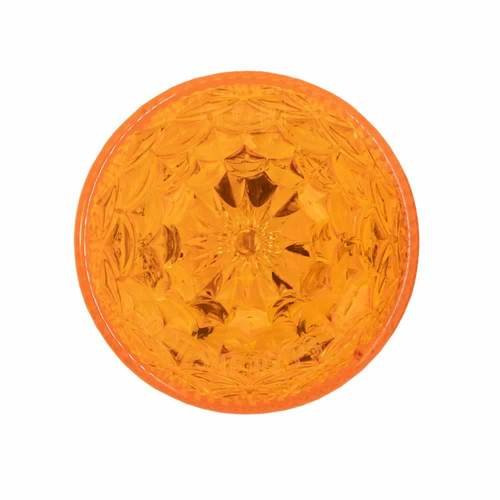 Round Amber Marker/Clearance Light - 2 Inch, 6 LED