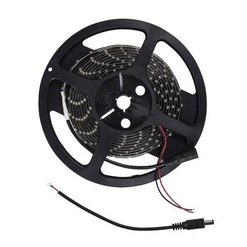 3528 White/Black Light Strip with Black Base - 3 Meter, 60 LED, Bulk