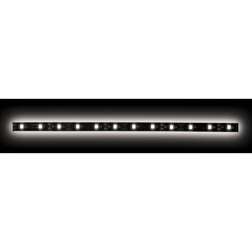 5050 White/Black Light Strip with Black Base - 3 Meter, 60 LED, Bulk