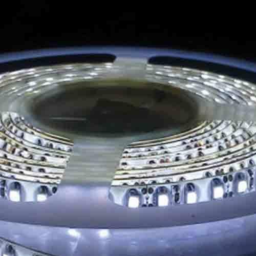 5050 White Light Strip - 5 Meter, 60 LED, Bulk