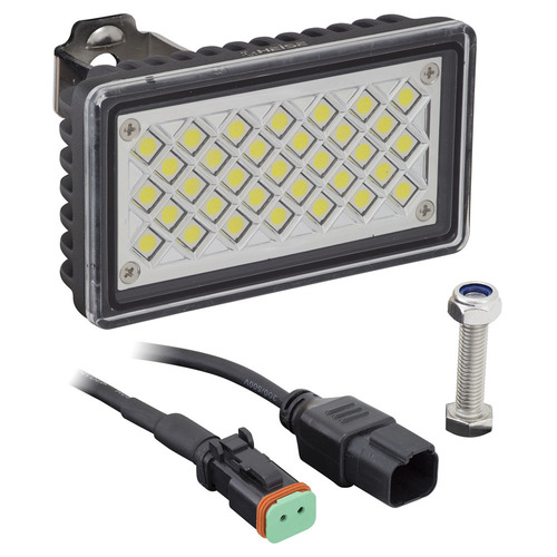 Rectangle Work Light - 3.625 x 2 Inch, 33 LED