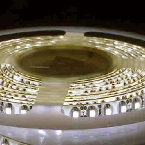 5050 Warm White Light Strip - 5 Meter, 60 LED, Bulk