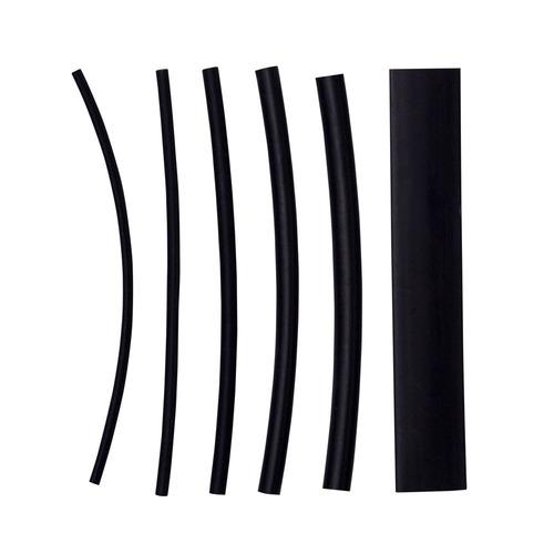 Heat Shrink Kit - 160 Pc 4 in 2:1 Assorted - Black