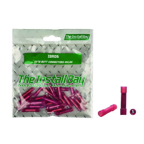 22 - 18 Butt Connector Nylon - Retail Pack