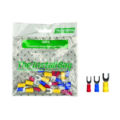 Assorted Spade Terminals Small Gauge Vinyl - Retail Pack