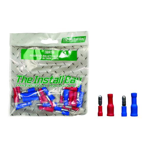 Assorted Bullet Connectors 22-18 GA & 16-14 GA - Retail Pack