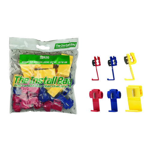 Assorted Instant Tap Connects 22/18G 16/14G 12/10G-RET PK