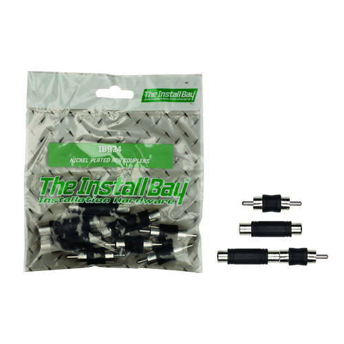 Nickel Plated RCA Couplers - Retail Pack