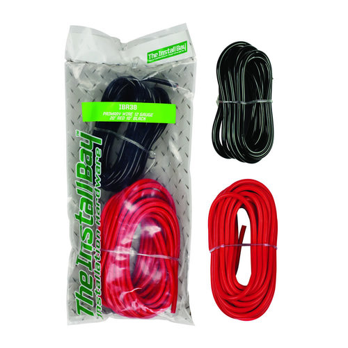 Primary Wire 12 GA - 20 ft /10 ft  - 2pc - Retail Pack