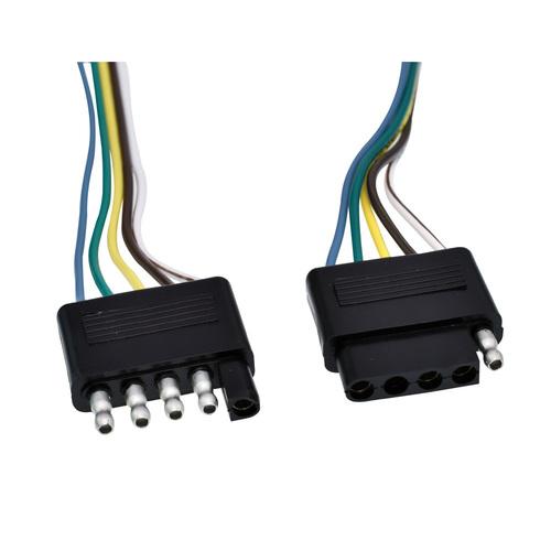 5 Way All Copper Trailer Wiring Plug - 5PK