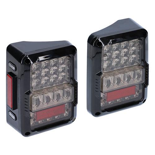 LED Lux Taillights - Wrangler JK 2007-2018