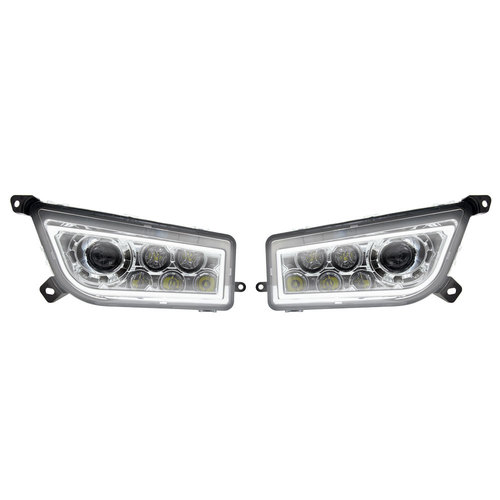 Polaris RZR Extreme LED Headlight - LED DRL Halo