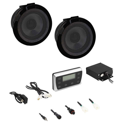 Bluetooth Media Player with Speakers